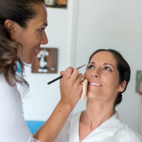 Luisa Portales Make Up. Maquillaje a domicilio el dia de la Boda de Isa