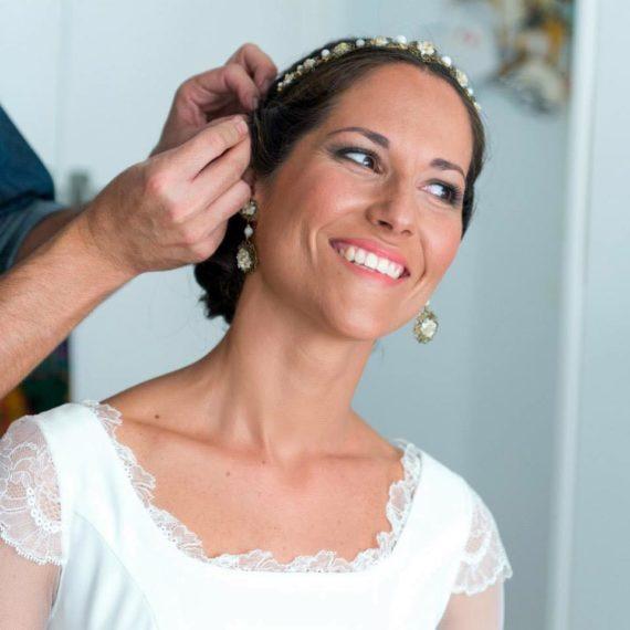Luisa Portales Make Up en Sevilla y Andalucía. Maquillaje Boda de Isa