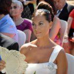 Maquillaje y peinado de boda de Diana por Luisa Portales esteticista profesional en Sevilla