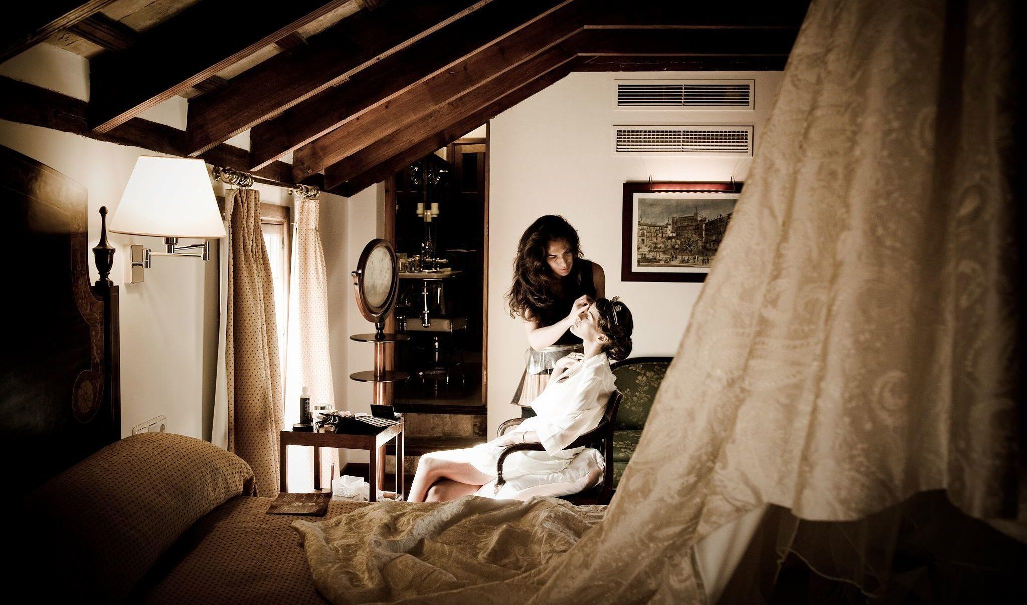 maquilladora profesional a domicilio de bodas y eventos en Sevilla y Andalucía Luisa Portales Make up Artits