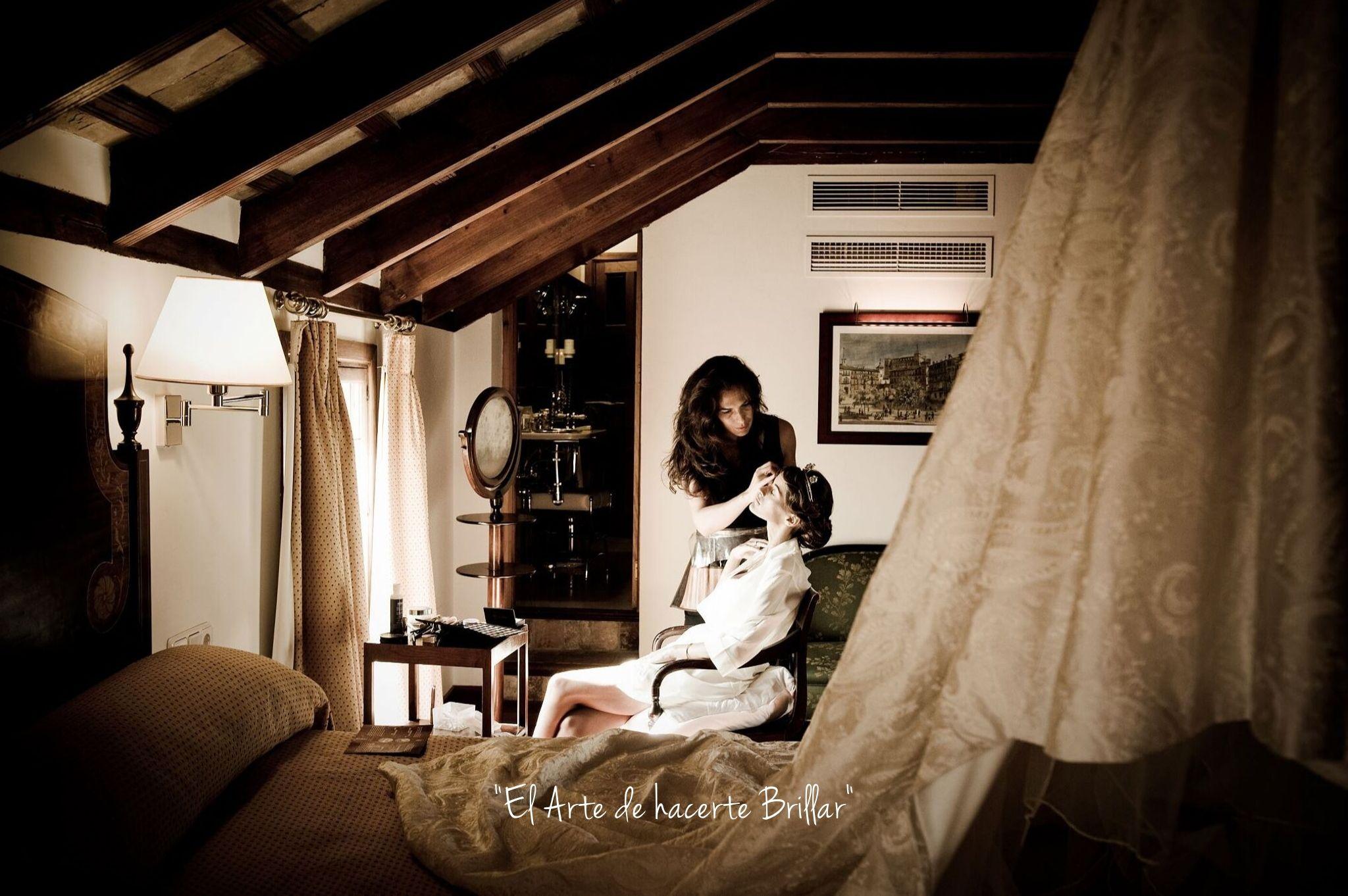 Esteticista maquillaje de bodas y eventos en Sevilla y Andalucía. Luisa Portales Make Up Artist