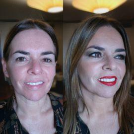 maquillaje por Luisa Portales esteticista en Sevilla