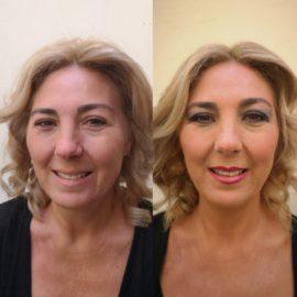 Destellos de cambio gracias a sesión de maquillaje por Luisa Portales Sevilla