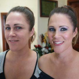 Destellos. Invitada de boda, maquillaje por Luisa Portales Sevilla