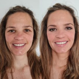 Maquillaje profesional a domicilio Luisa Portales en Sevilla.